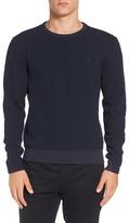 Original Penguin Waffle Knit Crewneck Sweatshirt