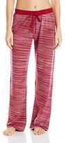 Karen Neuburger Women's Contrast Stitch Waistband Pant