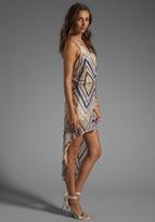 Parker Blair Metallic Bead Dress