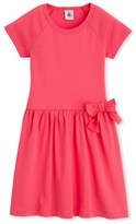 Petit Bateau Girls short-sleeved dress