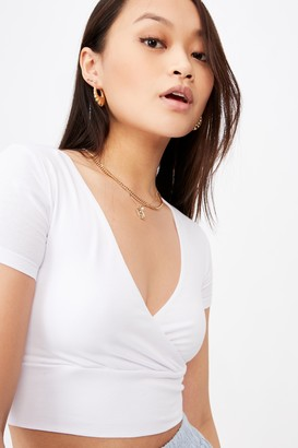 Supre Clementine Short Sleeve Top