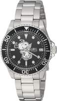 Invicta Women's 'Character Collection' Automatic Stainless Steel Casual Watch, Color:Silver-Toned (Model: 24790)
