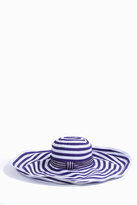 Missoni Stripe Wide Brim Sun Hat