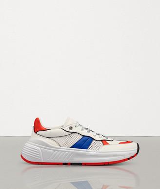 Bottega Veneta Speedster Sneaker In Calf And Mesh