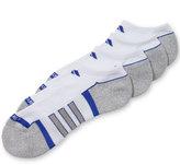 adidas Men's No-Show Climalite II Socks 2-Pack