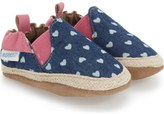 Robeez 'Heart Mania' Crib Shoe (Baby & Walker)