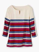 Talbots Block-Stripe Pullover