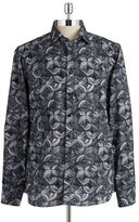 Pure Patterned Button-Front Shirt