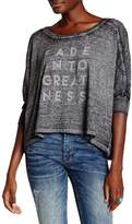 Threads 4 Thought Bradlee Burnout Knit Tee
