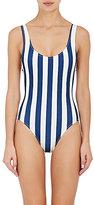 Solid & Striped Women's Anne-Marie Striped Microfiber Swimsuit