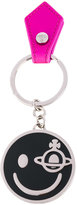 Vivienne Westwood smiley face keyring - unisex - Leather/metal - One Size