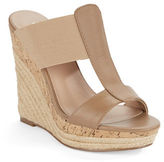Charles by Charles David Alto Leather Platform Wedge Sandals