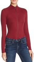 GUESS Casandra Zip-Front Bodysuit