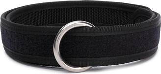 Random Identities ring-buckle touch-strap belt