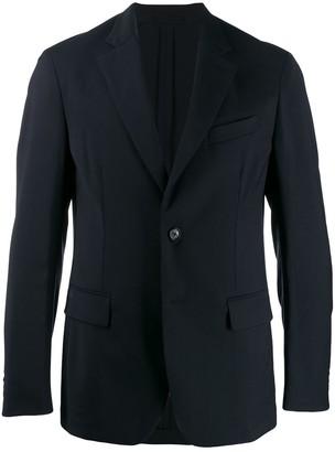 Versace single-breast classic blazer