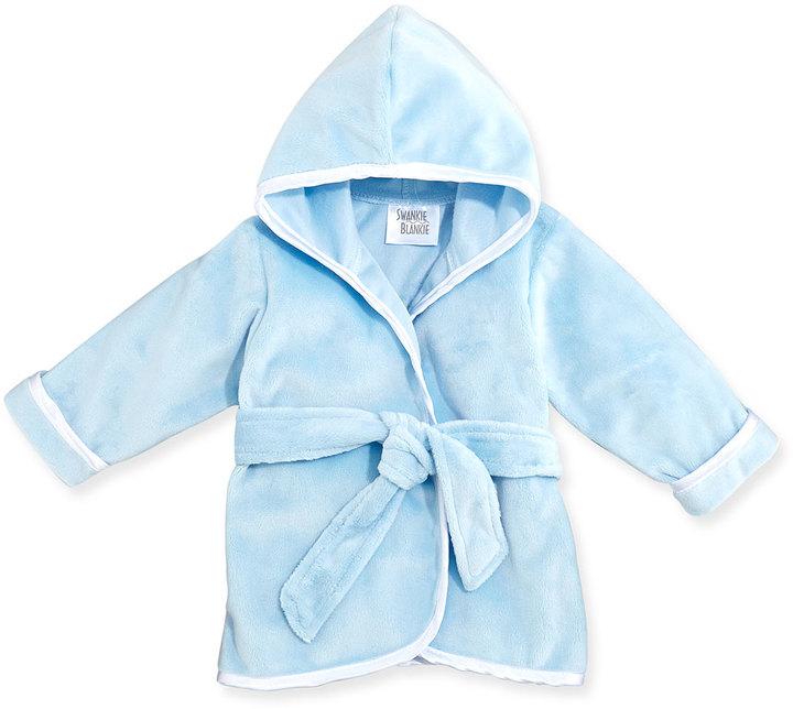 Swankie Blankie Infant Plush Robe, Blue