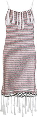 Loewe Tassel Knitted Dress