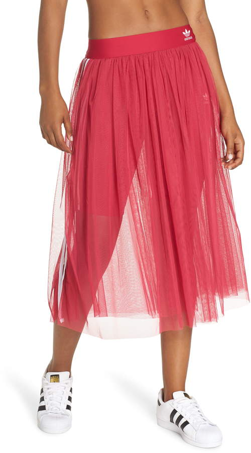 adidas 3-Stripes Tulle Skirt