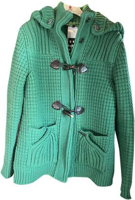 Bark Green Wool Jackets