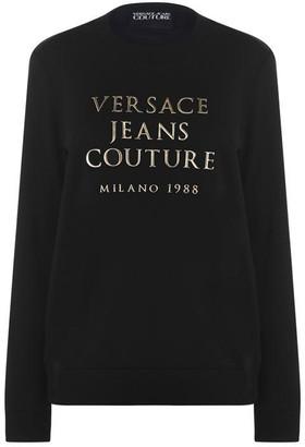 Versace Metal Logo Sweatshirt