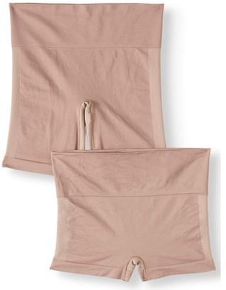 Maidenform Cool Comfort Cover Your Bases Slip Short + Boyshort 2 pack, style SE1011