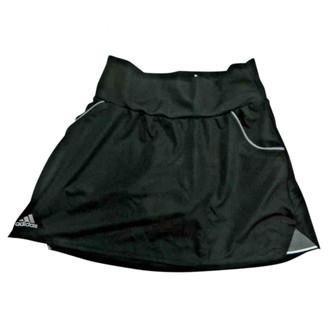adidas Black Polyester Skirts