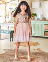 Boden Sequin Tulle Tiered Dress