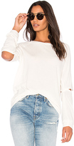 Michael Lauren Briggs Elbow Slit Top in Cream. - size S (also in )