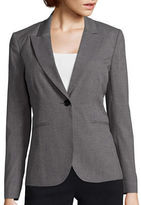 Liz Claiborne Long-Sleeve Suiting Blazer