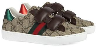 Gucci Kids Children's Ace GG Supreme sneaker
