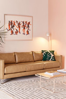 Urban Outfitters Chamberlin Recycled Leather Sofa