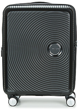 American Tourister SOUNDBOX 55CM 4R women's Hard Suitcase in Black