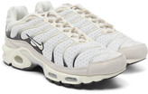 Nike Air Max Plus Nubuck-Trimmed Mesh Sneakers