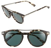 Loewe Women's 51Mm Round Sunglasses - Black