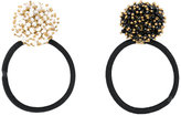 Rosantica pompom hairband set - women - Acrylic/metal/rubber - One Size
