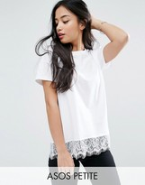Asos T-Shirt with Lace Detail