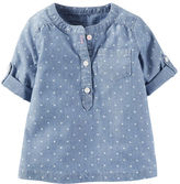 Carter's Chambray Woven Top