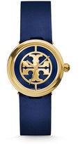 Tory Burch 36mm Reva Leather-Strap Watch