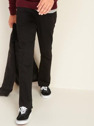 Old Navy Boot-Cut Built-In Flex Never-Fade Black Jeans for Men