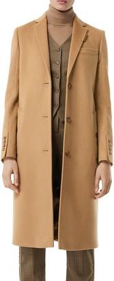 Burberry Bramley Wool & Cashmere Car Coat