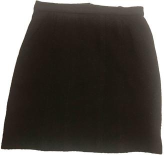 Chanel Black Wool Skirts