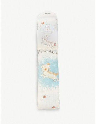 Bunnies by the Bay Skipit bamboo-blend swaddle blanket