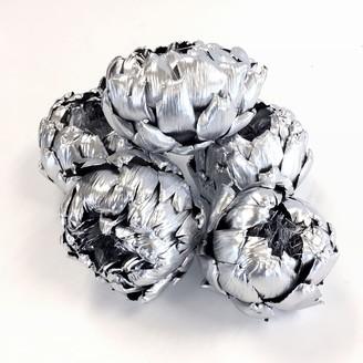 west elm Dried Artichoke Filler - Silver