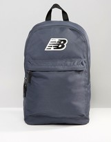 New Balance Pelham Classic Backpack In Blue Nb500210-025