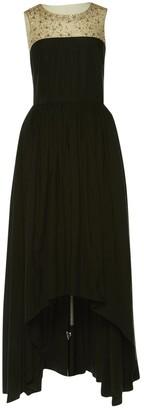 Marchesa Black Cotton Dresses