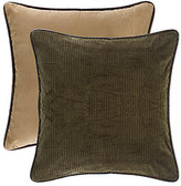 HiEnd Accents Rushmore Reversible Corduroy & Faux-Suede Euro Sham