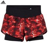 adidas Orange Run Shorts