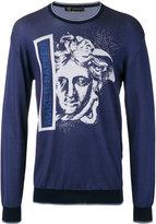 Versace Make It Happen' Medusa sweatshirt - men - Cotton/Viscose - S