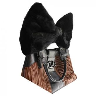 Valentino Black Mink Handbags