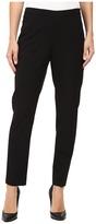 Ellen Tracy Side Zip Tapered Leg Trousers
